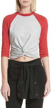 Alexander Wang Twist Front Jersey Top