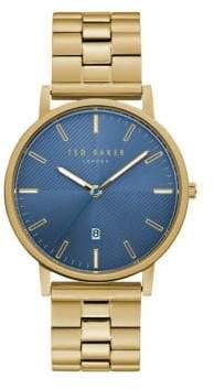 Ted Baker Dean Stainless Steel Bracelet Watch