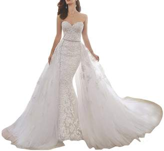 Lily Wedding Womens Beading Maxi Special Occasion Dresses for Women Wedding,Customized