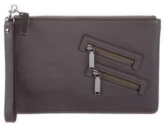 Rebecca Minkoff Leather Zip Clutch