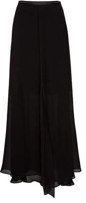 Brunello Cucinelli Silk-Chiffon Maxi Skirt Size: 40