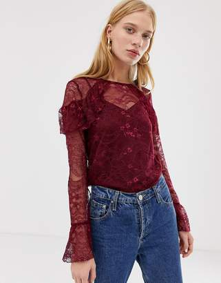 Warehouse Lace Top