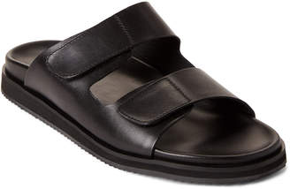 Kenneth Cole Black Story Double Band Slide Sandals