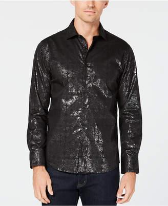 Tallia Men's Slim-Fit Shimmer Dress Shirt