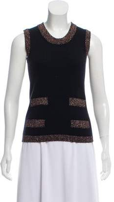 Chanel Cashmere Sleeveless Sweater