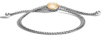 Women's John Hardy Classic Chain Hammered Pull Through Braclet $450 thestylecure.com