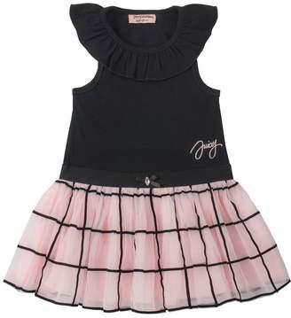 Juicy Couture Windowpane Skirt Dress