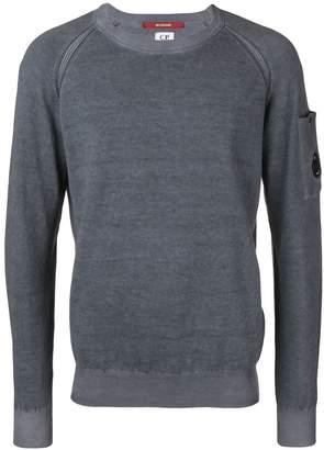 C.P. Company sleeve pocket jumper