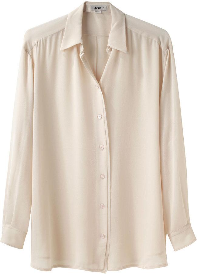 Acne / Shining Button Down Shirt