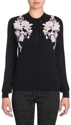 Dolce & Gabbana Floral Cashmere Cardigan