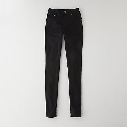 ACNE needle black jean