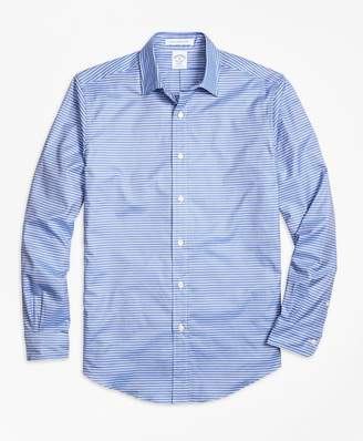 Brooks Brothers Regent fit Horizontal Stripe Sport Shirt