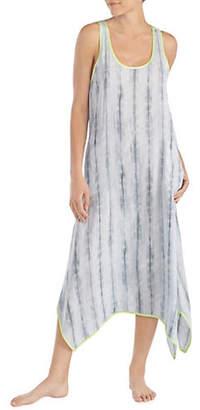 Donna Karan Scoop Neck Maxi Nightgown