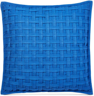 "Lauren Ralph Lauren Alexis Basketweave 20"" Square Decorative Pillow Bedding"