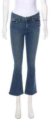 Frame Le Crop Mini Low-Rise Straight-Leg Jeans