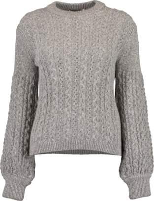 Moncler Crewneck Cable Sweater