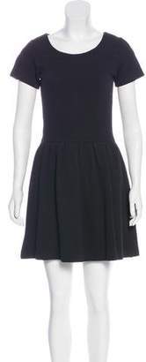 Ganni Short Sleeve Mini Dress
