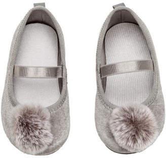 H&M Ballet Flats - Gray