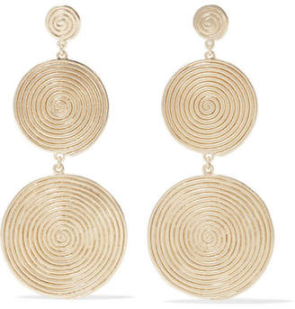 Elizabeth and James Lorelai Gold-plated Earrings
