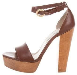Stella McCartney Vegan Leather Platform Sandals