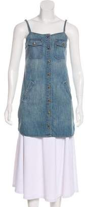 Current/Elliott The Strappy Perfect Denim Tunic