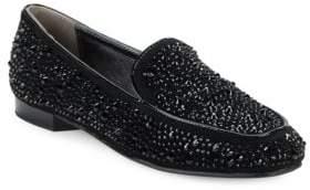 Donald J Pliner Helena 2 Suede Loafers