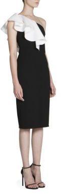 Saint LaurentSaint Laurent One-Shoulder Dress