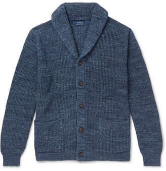 Polo Ralph Lauren Shawl-Collar Melange Cotton Cardigan