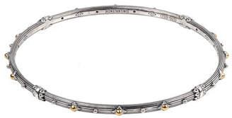 Konstantino Delos Two-Tone Bangle Bracelet, Size M