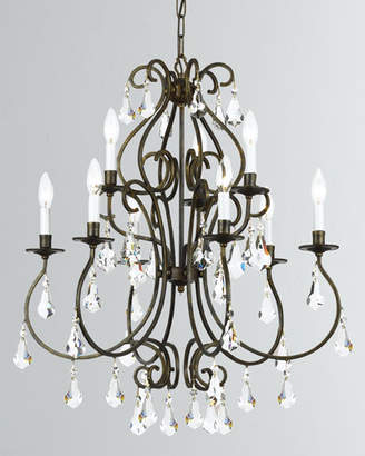 Ashton 9-Light English Bronze Chandelier