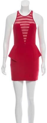 Mason Crochet-Trimmed Mini Dress