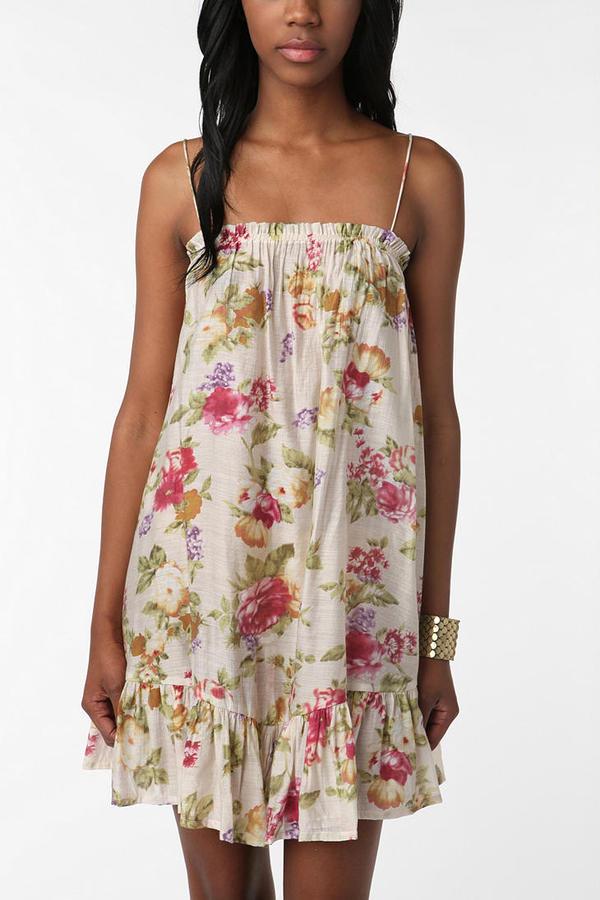 Costa Blanca Flowy Floral Dress