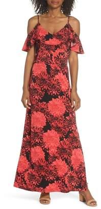 Leota Didi Cold Shoulder Maxi Dress