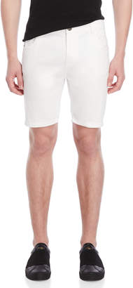 Brave Soul White Denim Shorts