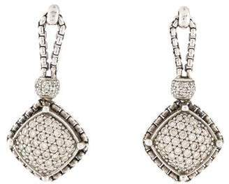 David Yurman Diamond Cable Earrings