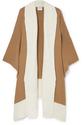 Madeleine Thompson Narvi Wool And Cashmere-blend Wrap - Cream