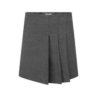 Il Gufo Il GufoGirls Steel Grey Pleated Skirt