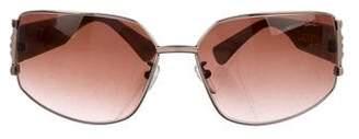 Lanvin Metal Gradient Sunglasses