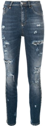 Philipp Plein super high waist jeans