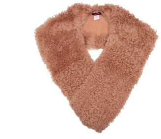 Sies Marjan Jordi Shearling Shrug - Womens - Pink