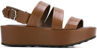 Tod's flat platform sandals