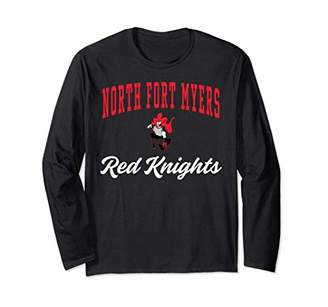 North Fort Myers High School Red Knights LS T-Shirt C3