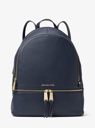 MICHAEL Michael Kors Rhea Large Leather Backpack
