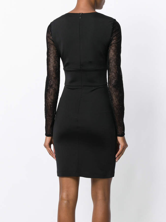 Just Cavalli studded fitted dress