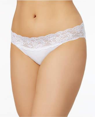 Cosabella Never Say Never Plus Size Lace-Waist Bikini NEVER0541P