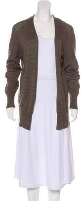 LAUREN MANOOGIAN Wool-Blend Lightweight Cardigan