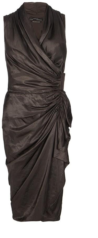 AllSaints Cancity Gloss Dress