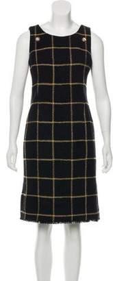 Chanel Wool Sheath Dress