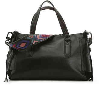 Women's Aimee Kestenberg Lennox Leather Satchel -Black $258 thestylecure.com