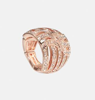Avenue Cutout Stone Stretch Ring